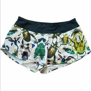 Reebok CrossFit Insect Bug Print Workout Shorts M